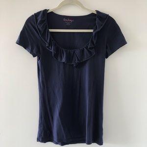 Lilly Pulitzer Ruffle T-Shirt